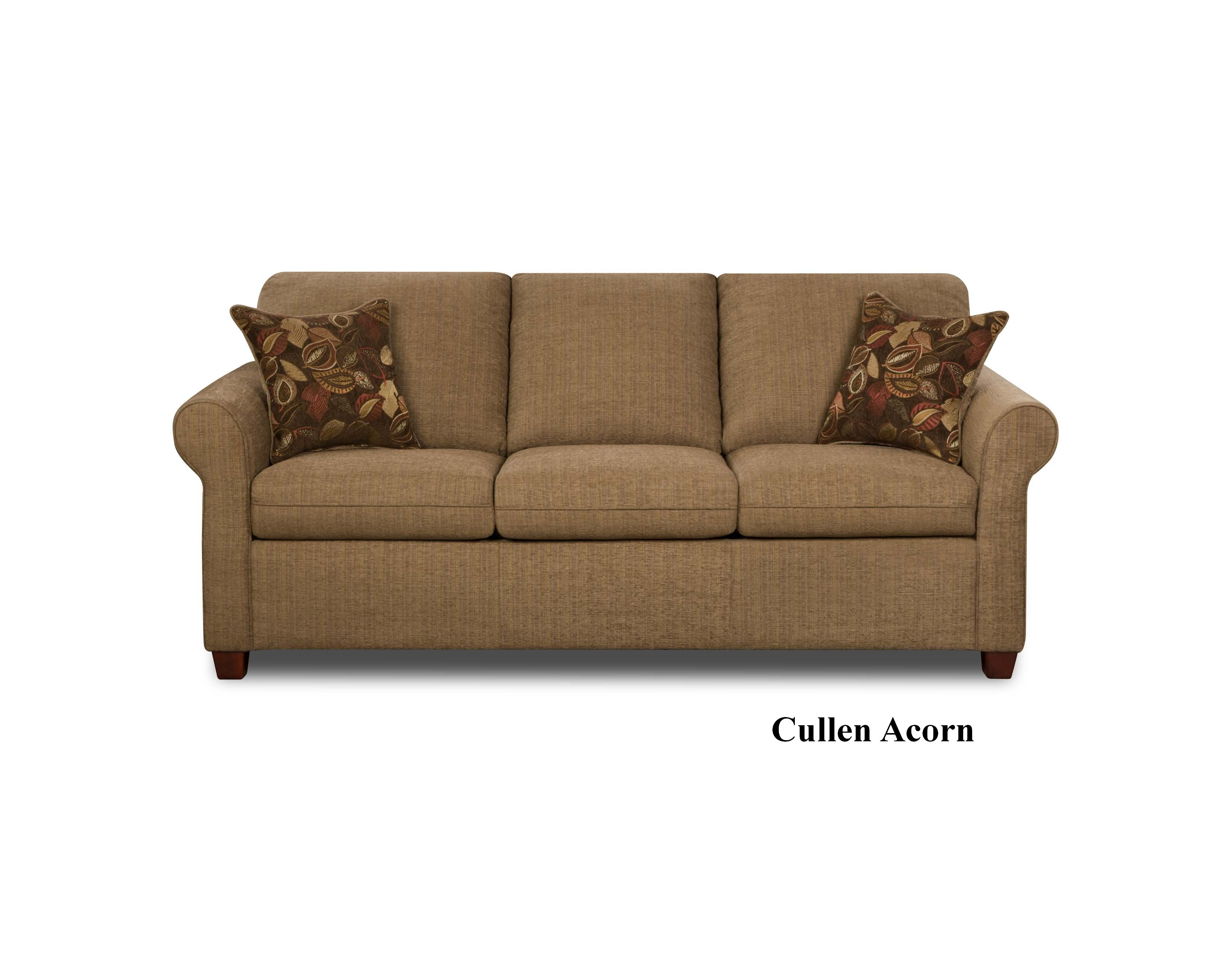 Loveseat Sleeper Sofa With Simmons Upholstery 1630 3 Pc Sofa.