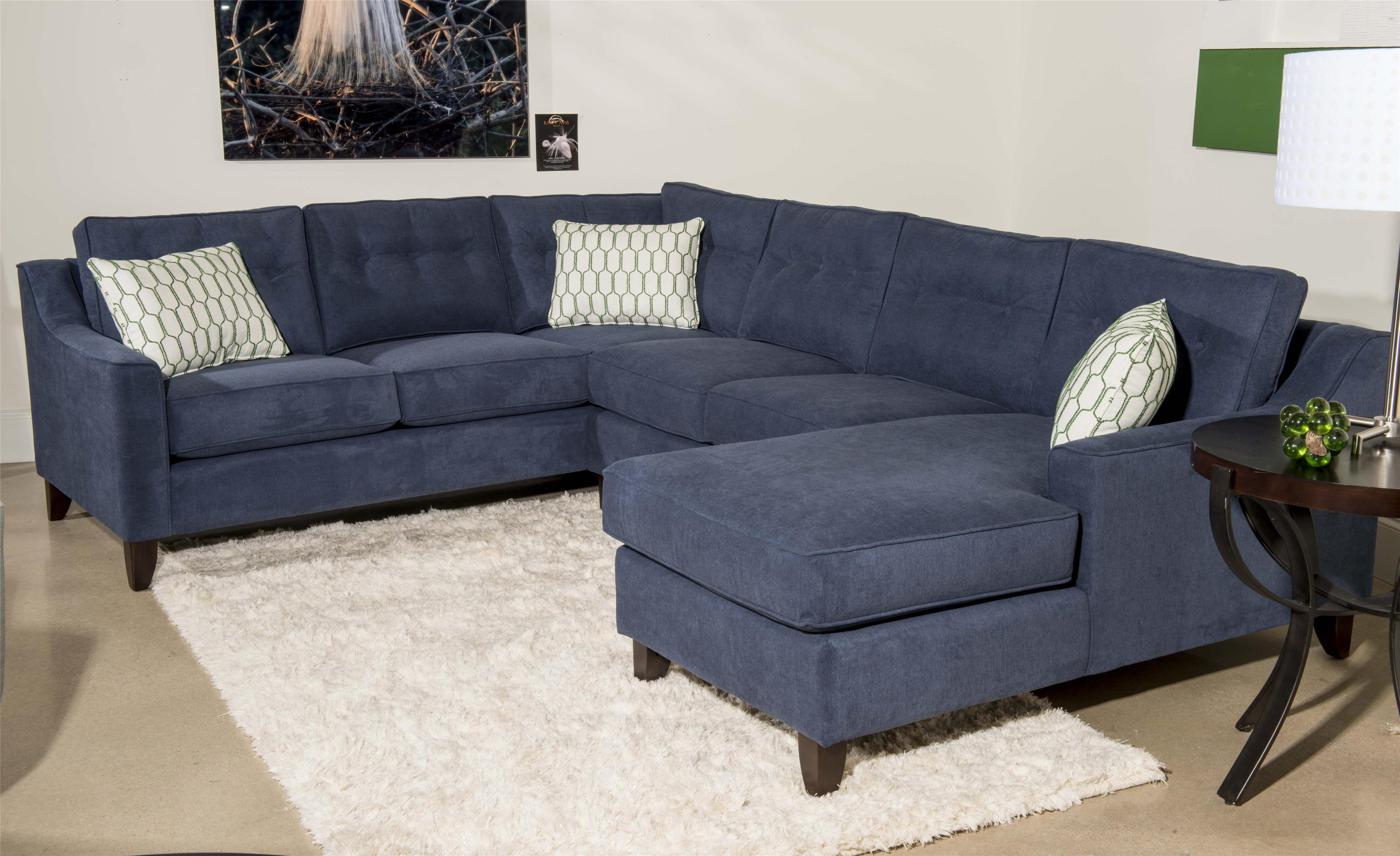Sectional Sofa With Chaise.