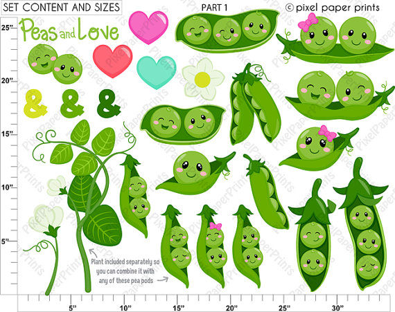 Three peas in a pod clipart 2 » Clipart Station.