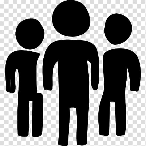 Computer Icons Person Drawing, three people transparent.