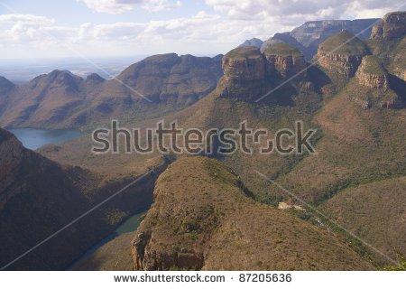 Blyde River Canyon Stock Photos, Royalty.