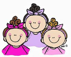 Three Sisters Clipart.