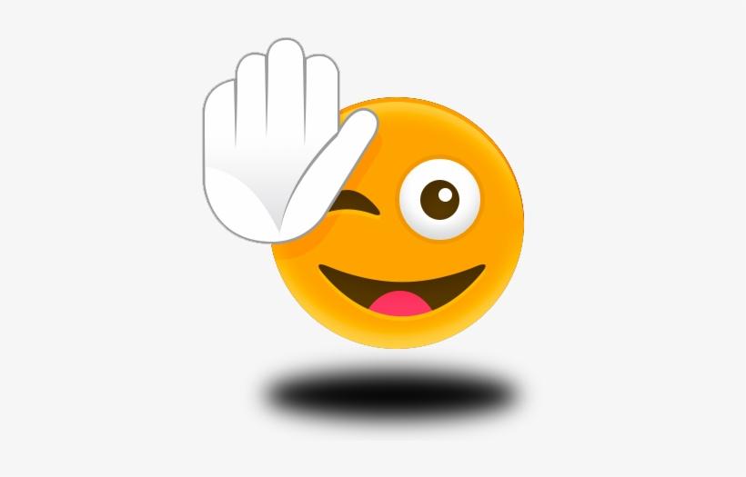Emoticon High Five Download.