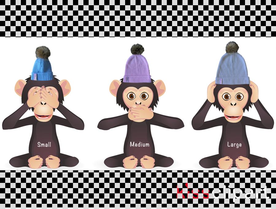 Three Wise Monkeys, Royaltyfree, Evil, transparent png image.