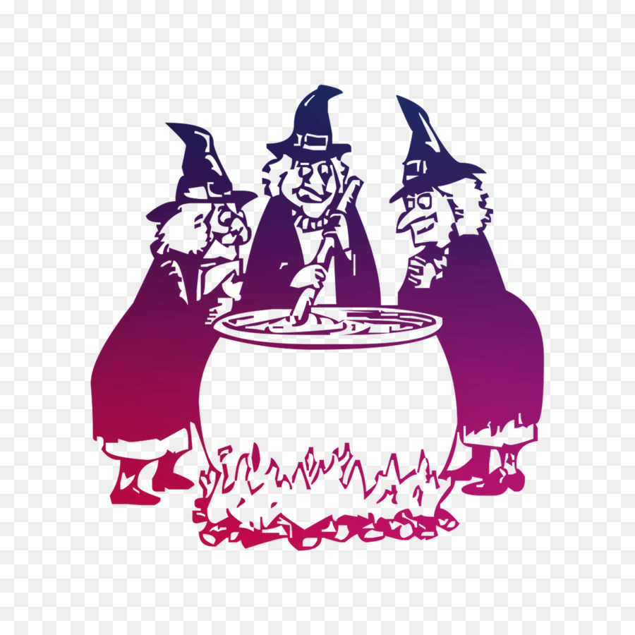Three Witches Cauldron png download.