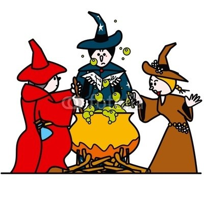 Three witches clipart » Clipart Portal.