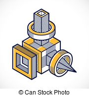 Three dimensional shape Clipart and Stock Illustrations. 73,424.