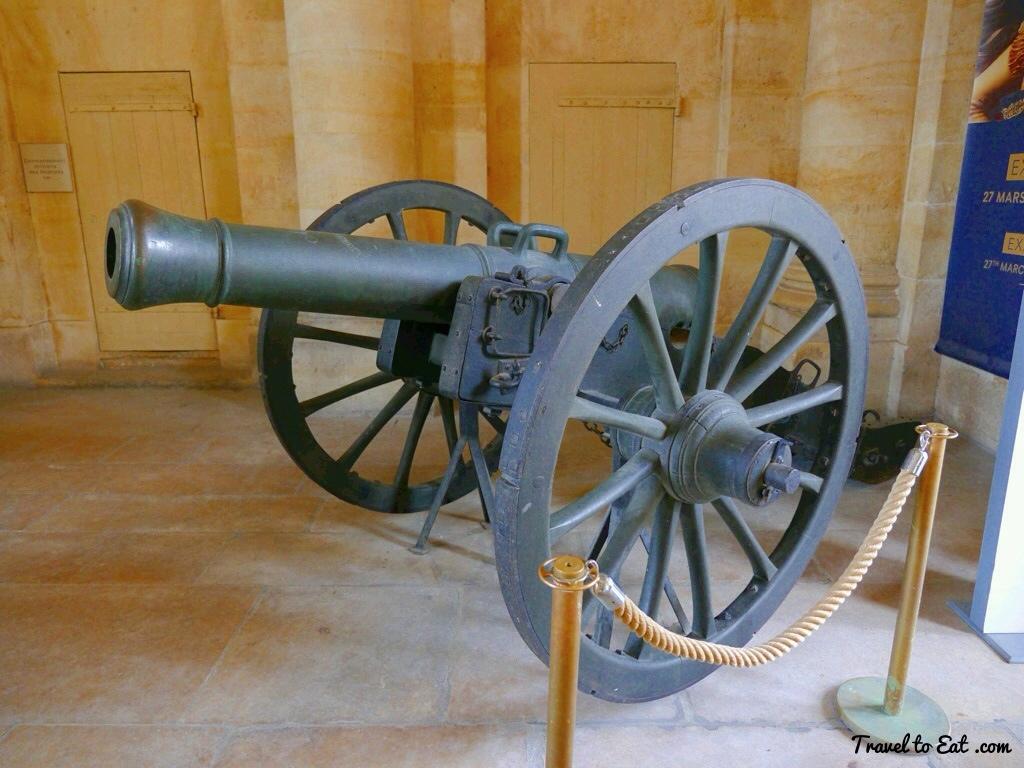 The Cannons of Les Invalide, Paris.