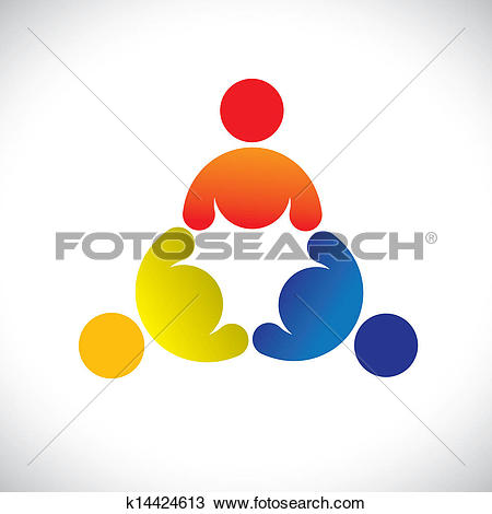Clipart of Concept vector graphic.