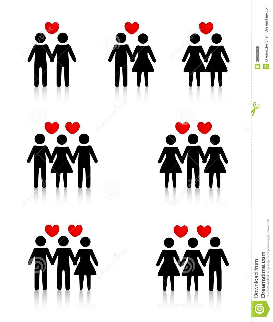Relationships Clip Art.