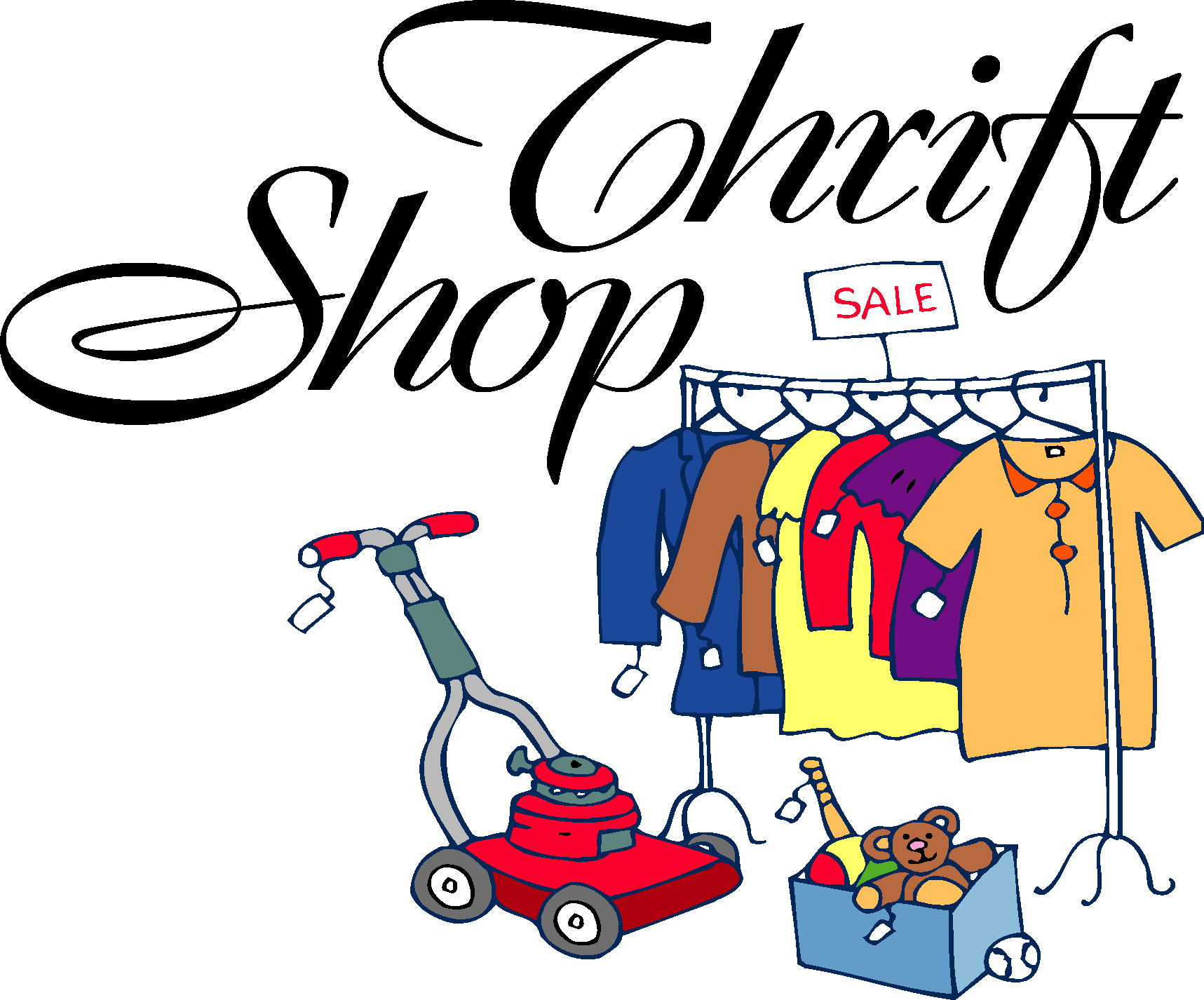 Thrift store clipart 3 » Clipart Station.