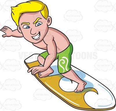 surf Cartoon Clipart.