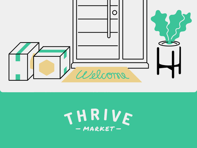 Patrick Mahoney / Projects / Thrive Market Illustrations.