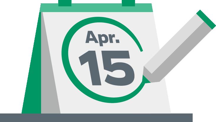 2018 Tax Calendar.