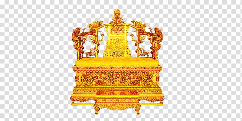 Forbidden City Emperor of China Qing dynasty Throne Chair.