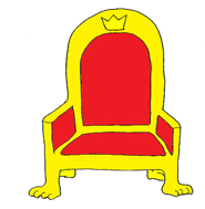 Throne clipart.