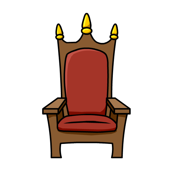 Clipart throne.