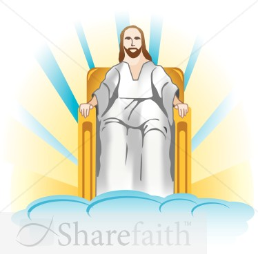 Throne Of God Clipart.