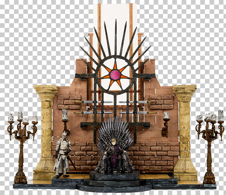 Iron Throne Construction set McFarlane Toys Television.