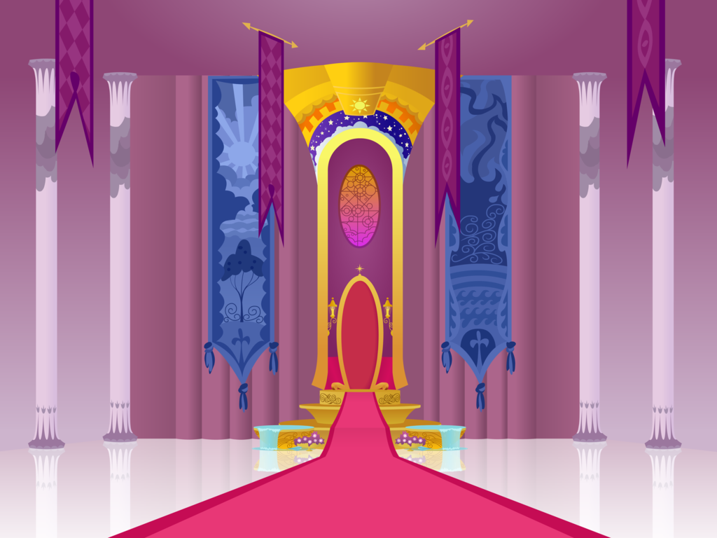 Castle clipart throne room, Castle throne room Transparent.