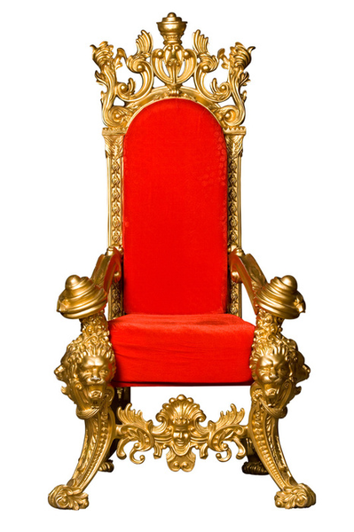 King throne clipart.