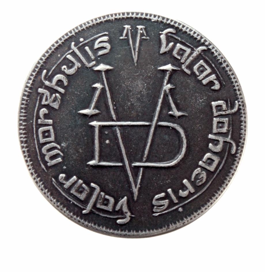 Iron Coin Of The Faceless Man.