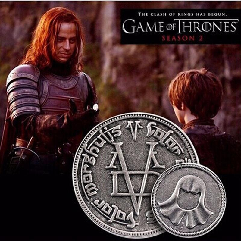 Game Of Thrones Faceless Man Coin.