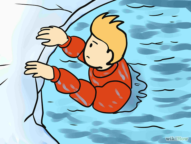 Hypothermia Clipart.