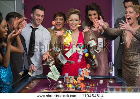 Throwing Money Stock Images, Royalty.