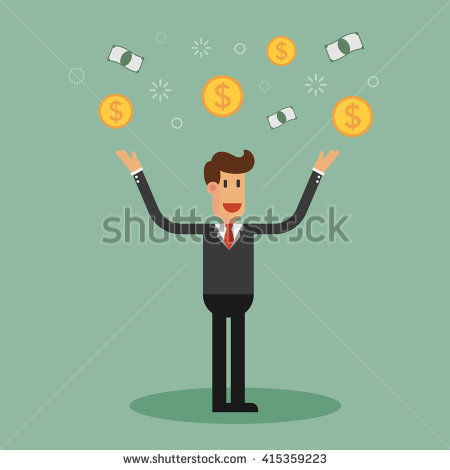 Man Throwing Stock Images, Royalty.
