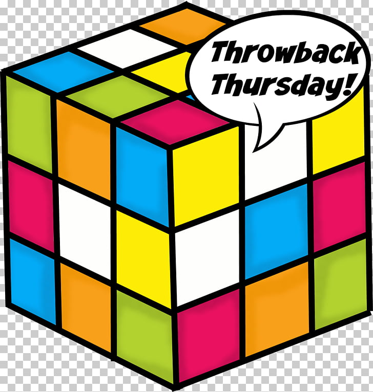 1980s Rubik\'s Cube Blog , Throwback Thursday PNG clipart.