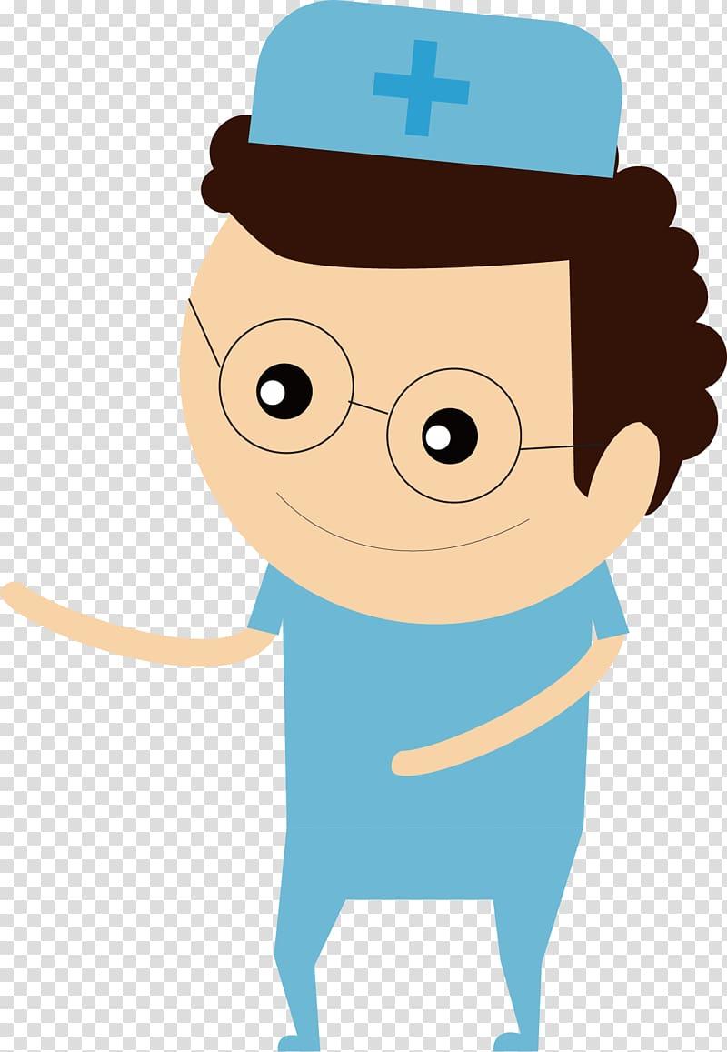 Physician , Optimistic doctor transparent background PNG.