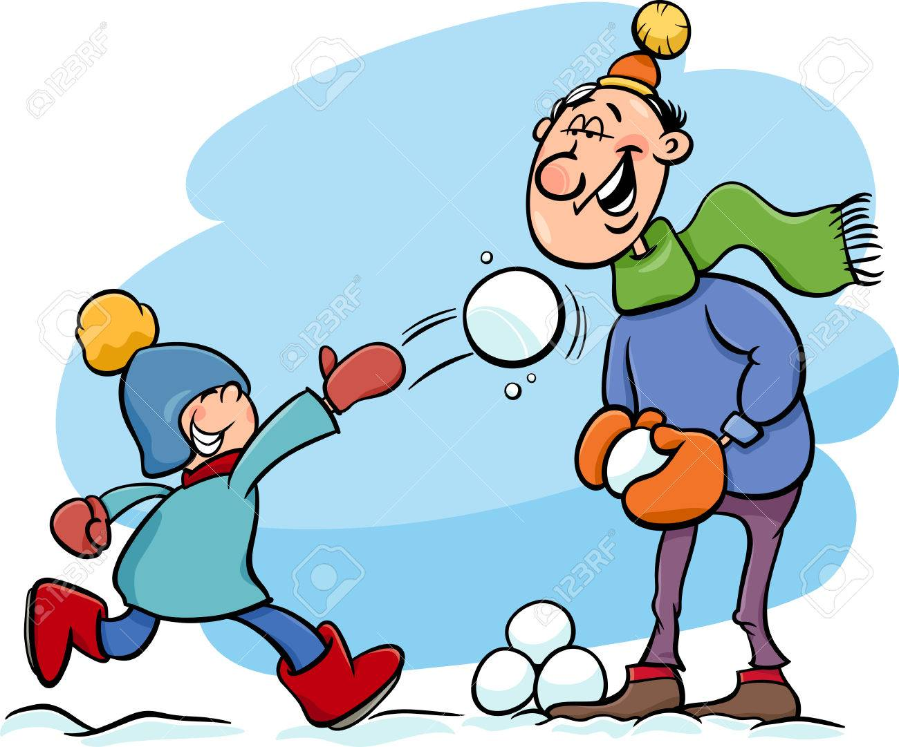 Throwing Snowball Cliparts Free Download Clip Art.