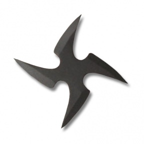 Ninja Throwing Star Clipart.
