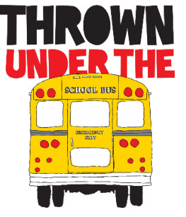 Thrown Under The Bus Gifts on Zazzle.