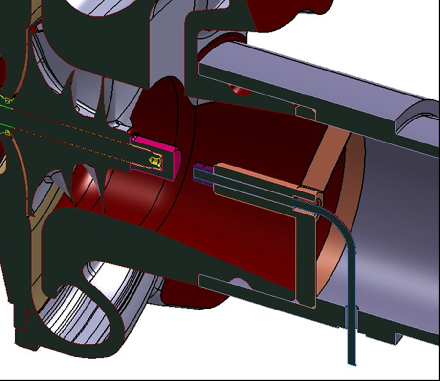 Unsteady Thrust Force Loading of a Turbocharger Rotor During.