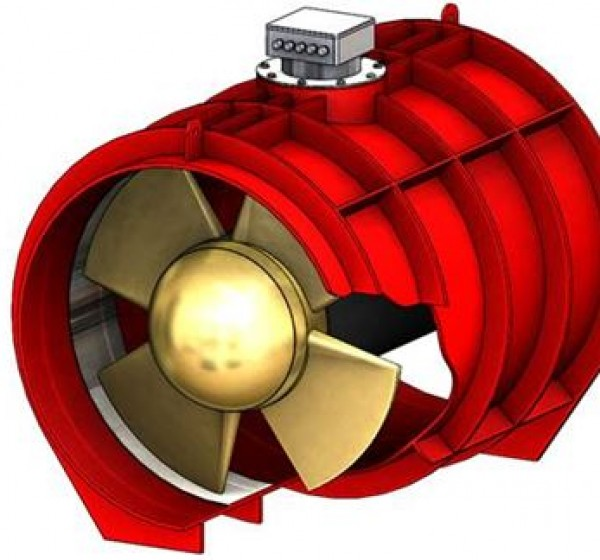 Electric Podded Tunnel Thrusters.