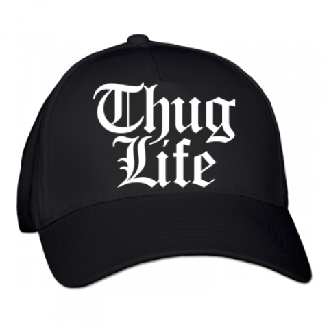 Thug Life Hat Transparent Background PNG.
