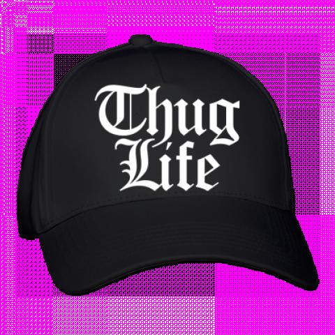 Thug Life Hat Transparent Background PNG.