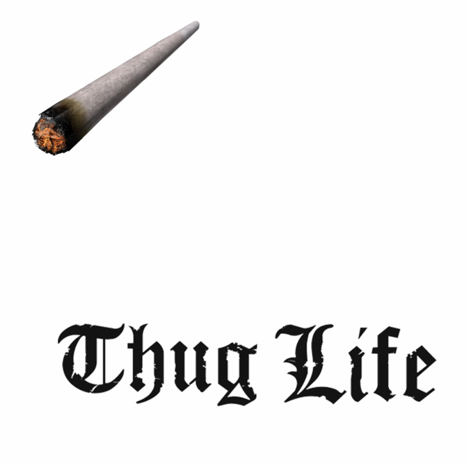 Thug Life Joint Transparent.