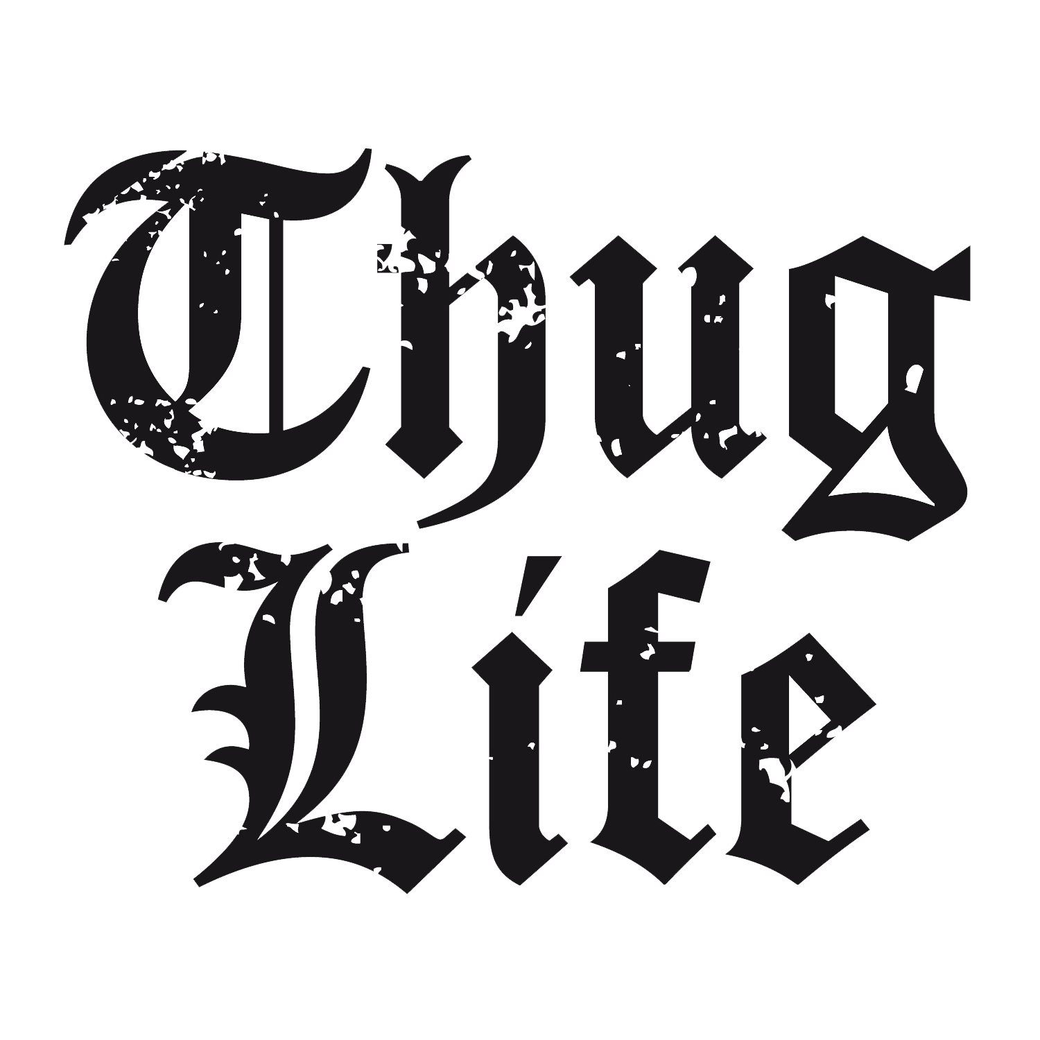 Logo Thug Life Transparency GIF Portable Network Graphics.
