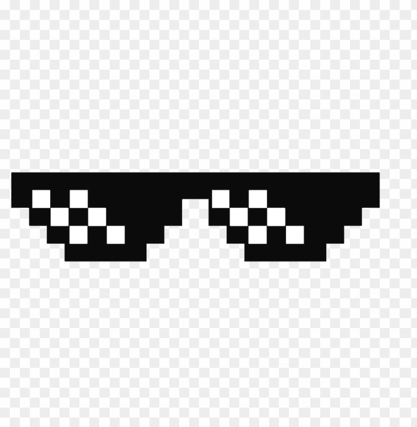 deal with it glasses thug life sunglasses by swagasaurus.