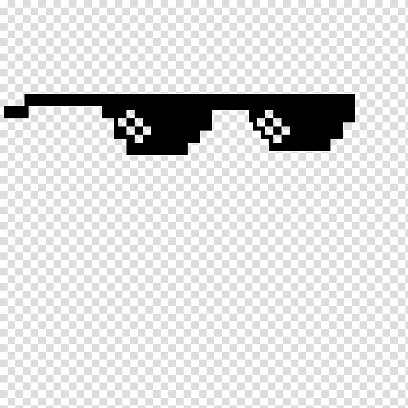 Pixel art, Thug Life transparent background PNG clipart.
