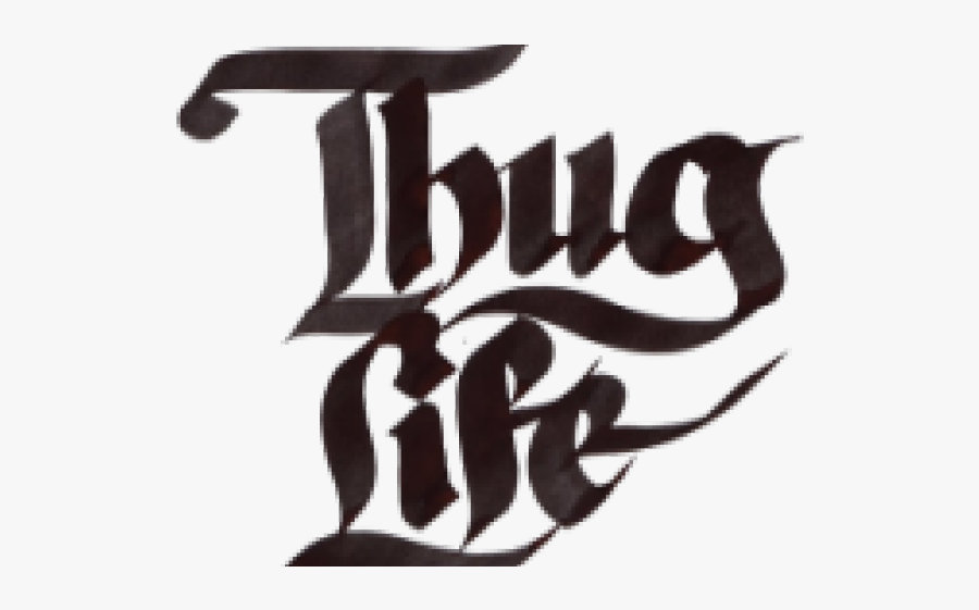 Thug Life Png Transparent Images Glasses, Joint, Text.