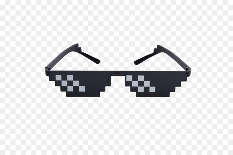 Thug Life Glasses png download.