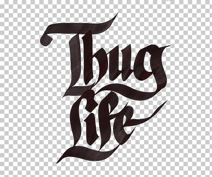 Thug Life , 2pac, Thug Life logo PNG clipart.