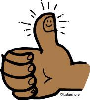 Thumb clip art.