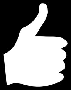 Thumb clipart free.
