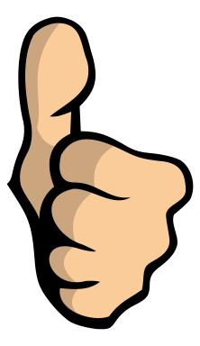 Thumb Clipart.