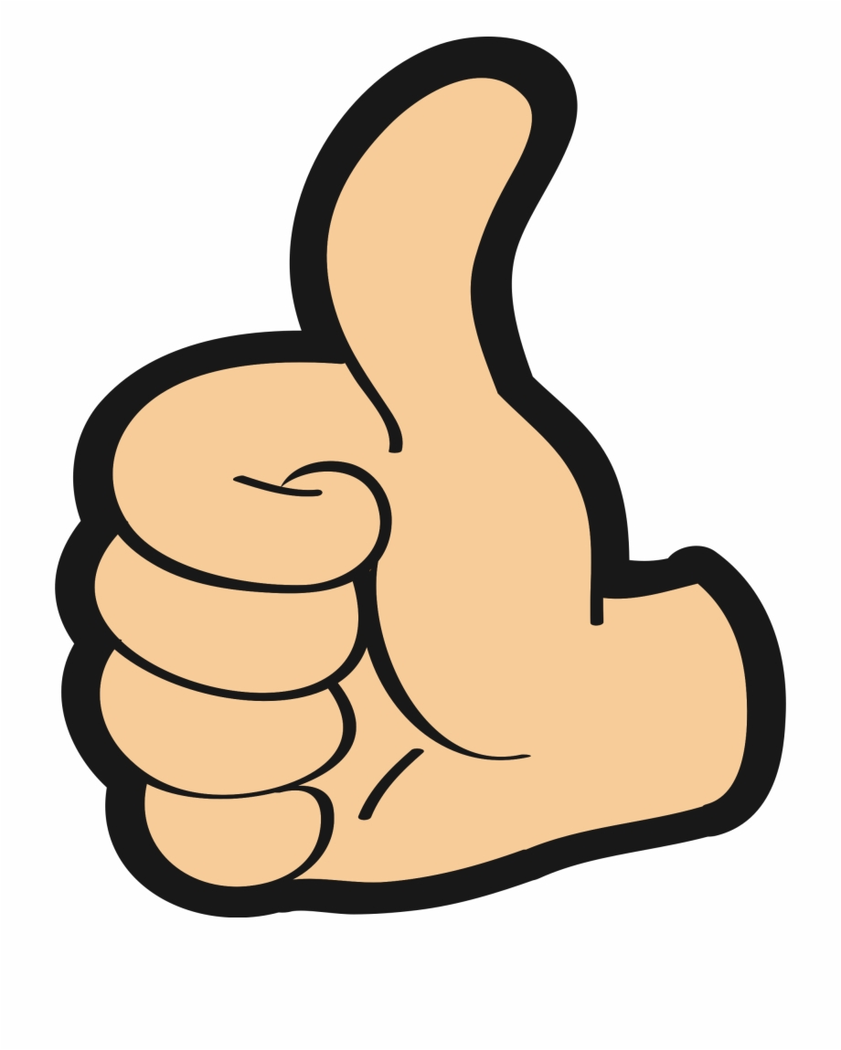Thumbs Up Clipart Transparent Transparent Background.